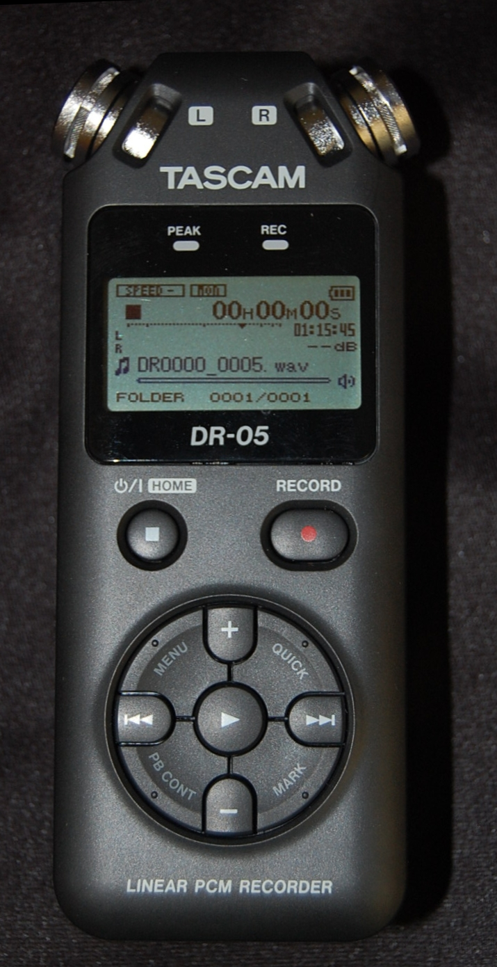 Tascam MP3 Recorder